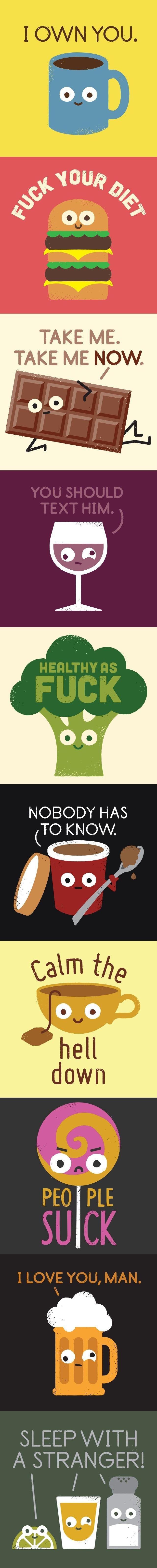 If food told you the truth