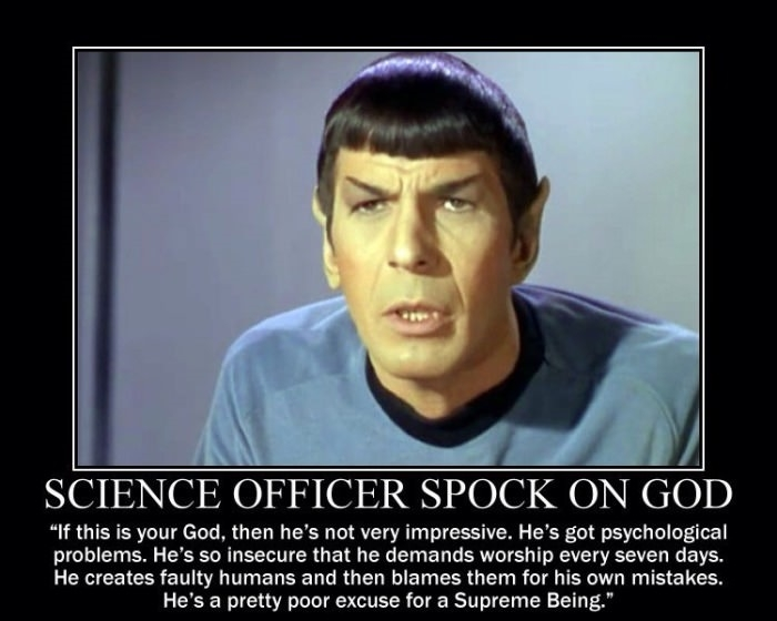 Science officer Spock