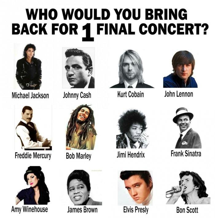 Final concert?