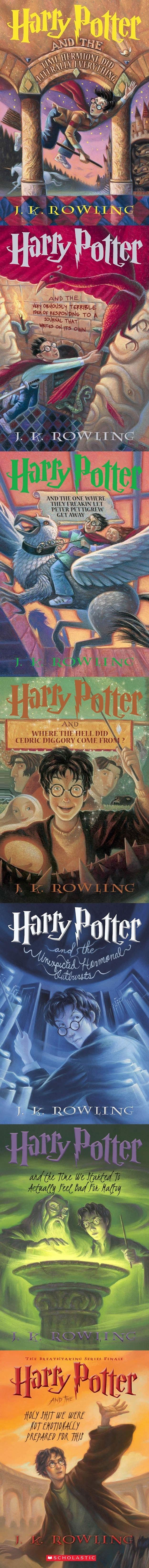 Honest HP book titles