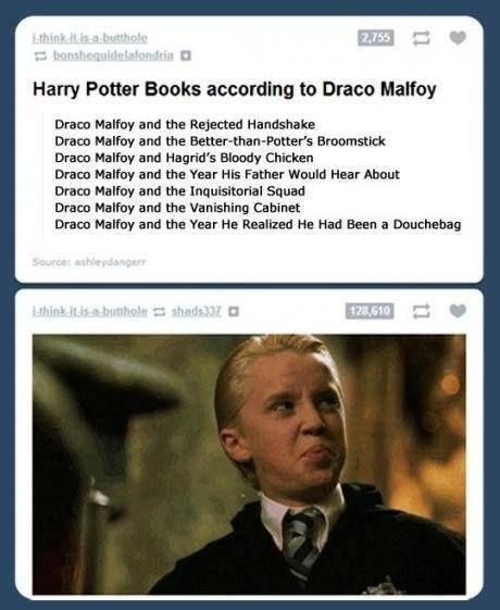 Draco Malfoy and..