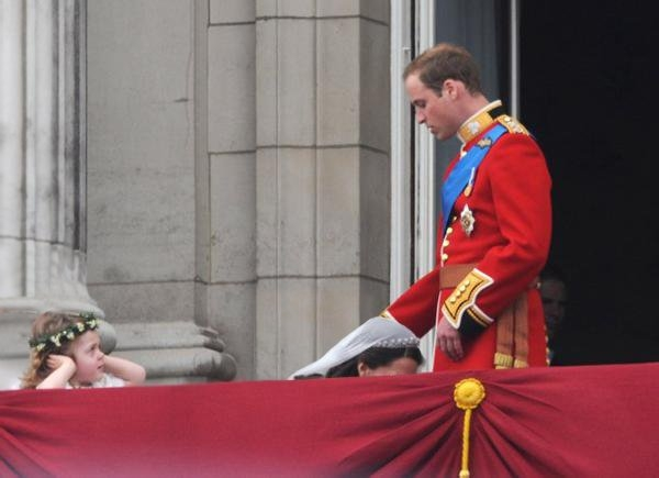 Kate honours the king