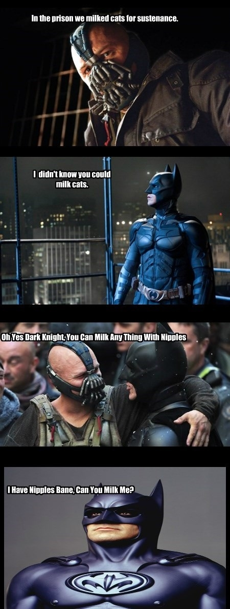 Bane on milking