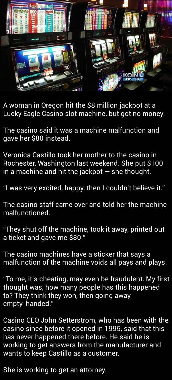 Woman hits $8M jackpot..