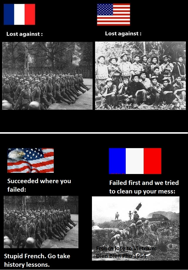 The French fail again