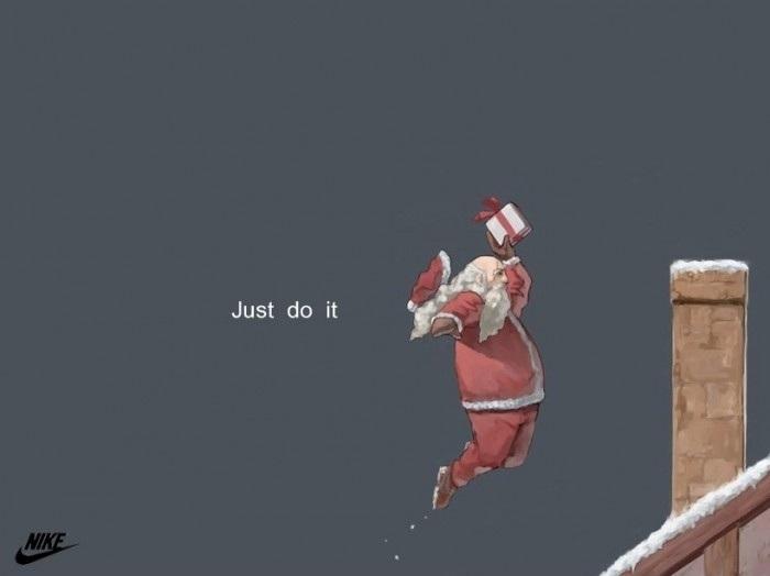 Santa now twice as awesome