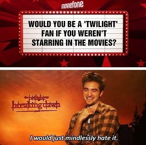 Robert Pattinson Pwned!