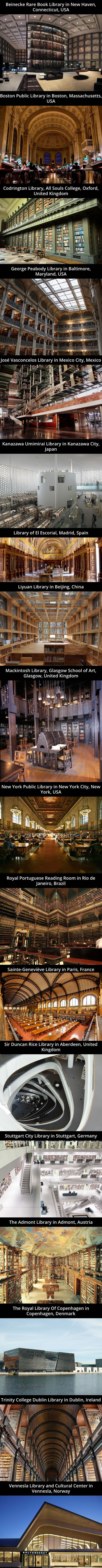 Grand libraries