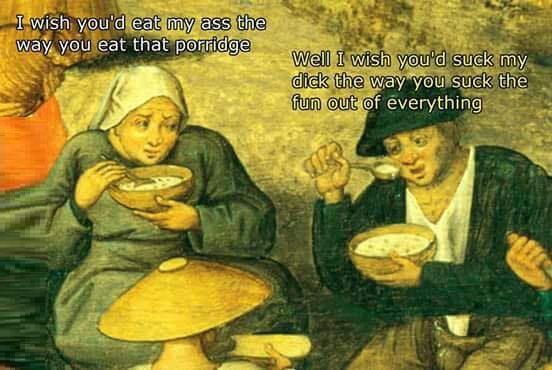 Funny classic art meme