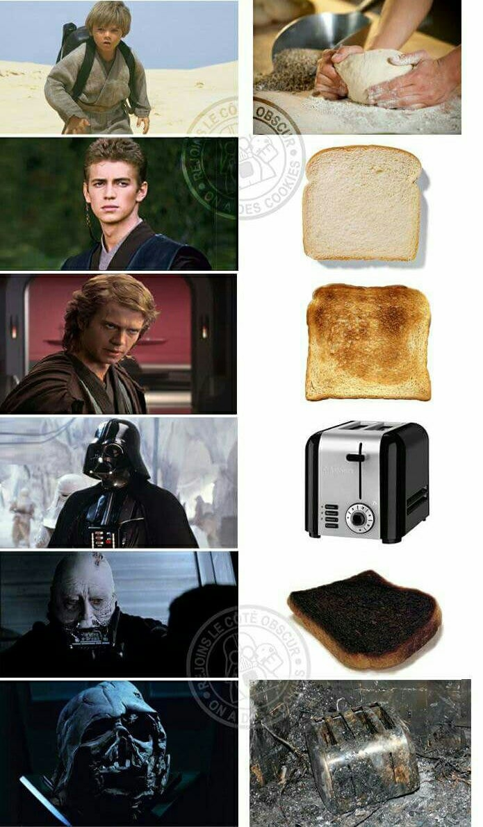 If Anakin was bread