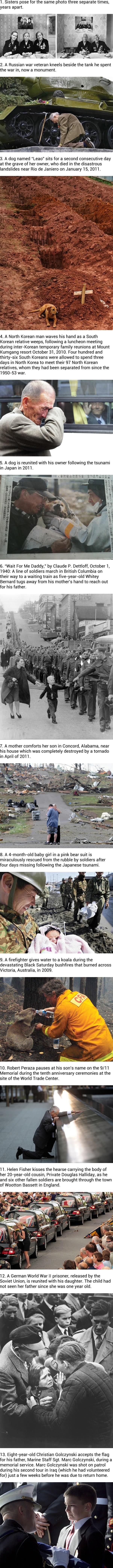 Heartbreaking photos