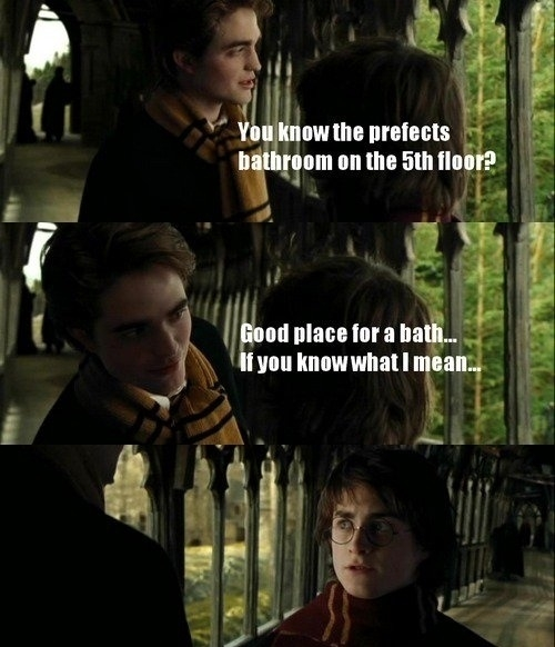 Even in Harry Potter