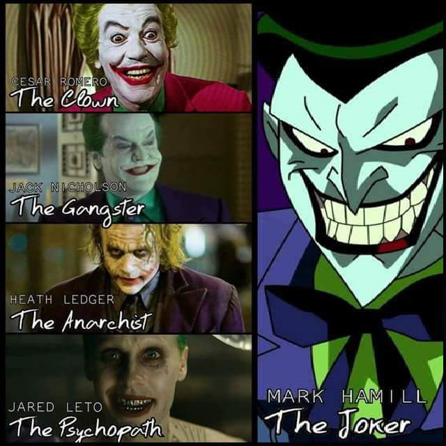 Who is the real joker?