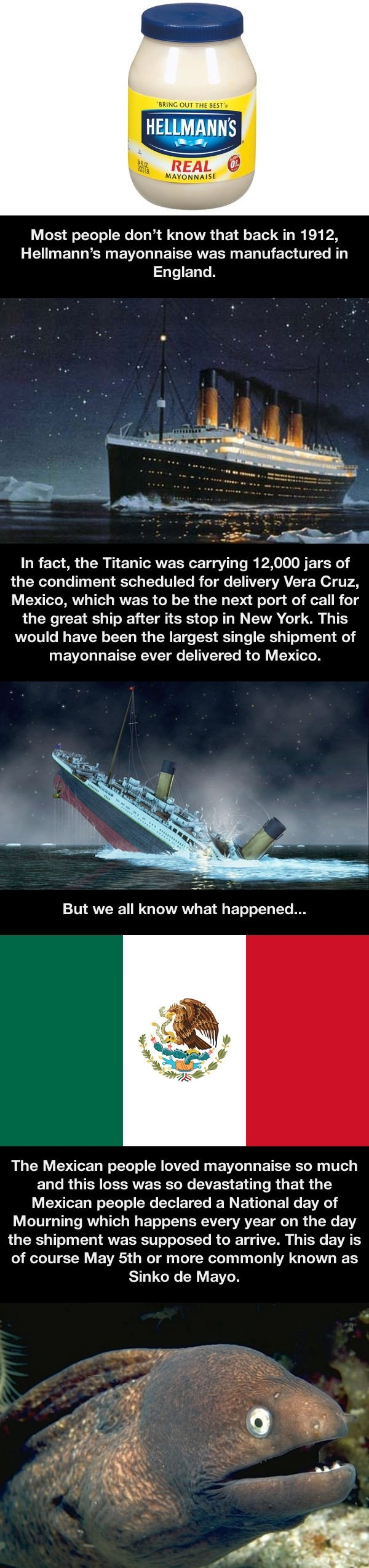 A fact about the Titanic