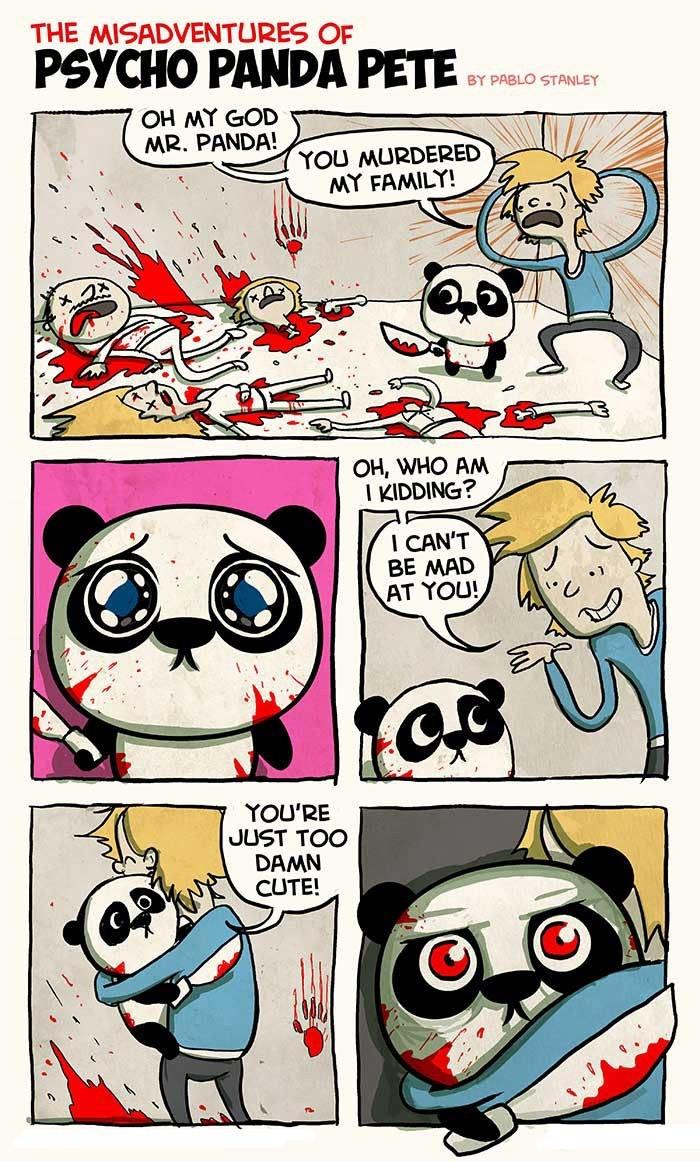 Psycho panda Pete