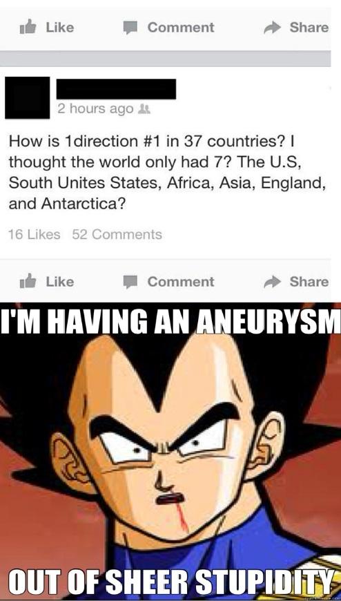 Too much stupidity