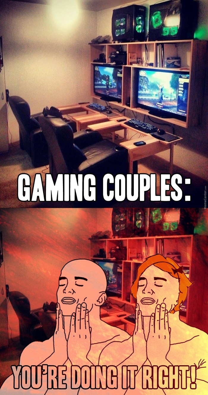 Funny Memes For Couples : Play together stay
