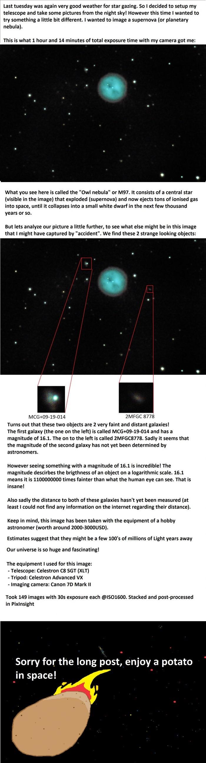 Capturing a supernova