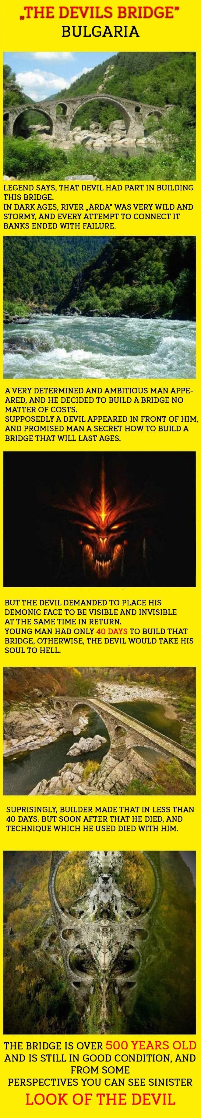 The devil's bridge