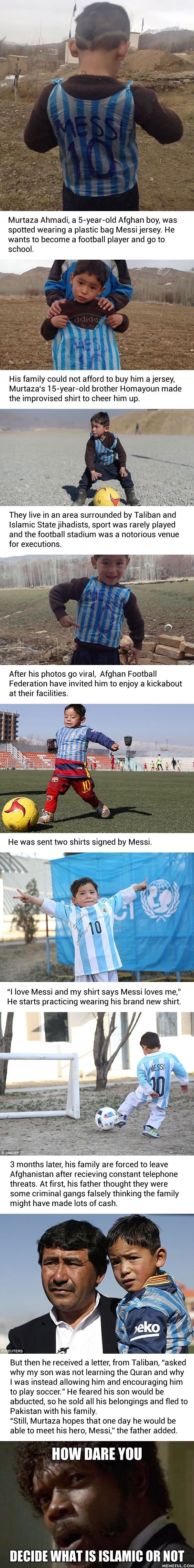 Story of Messi's biggest fan