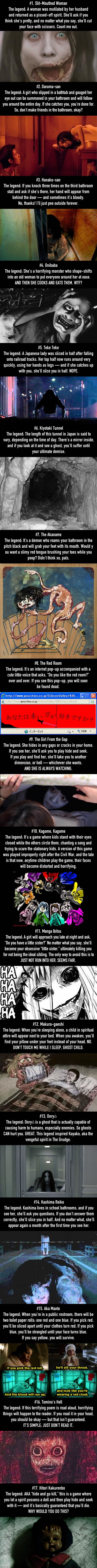 Do not read these Japanese urban legends before bed