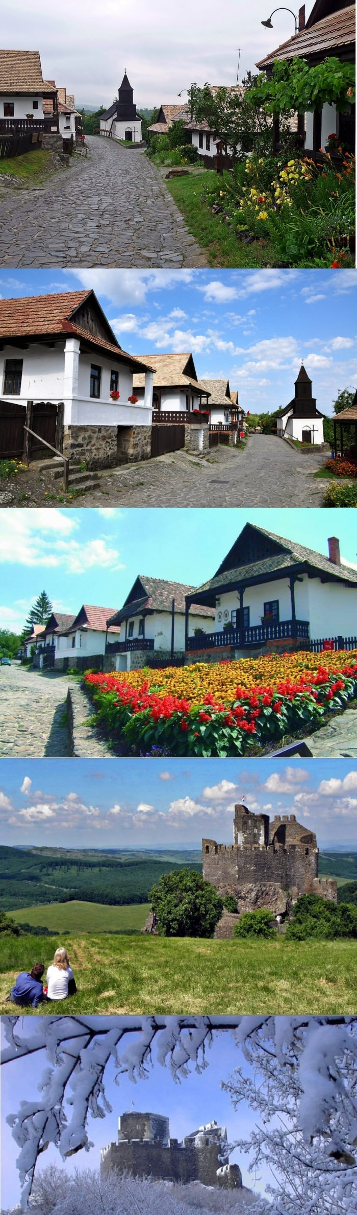 A historical European village