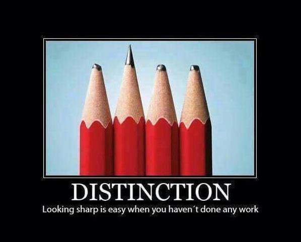 Distinction