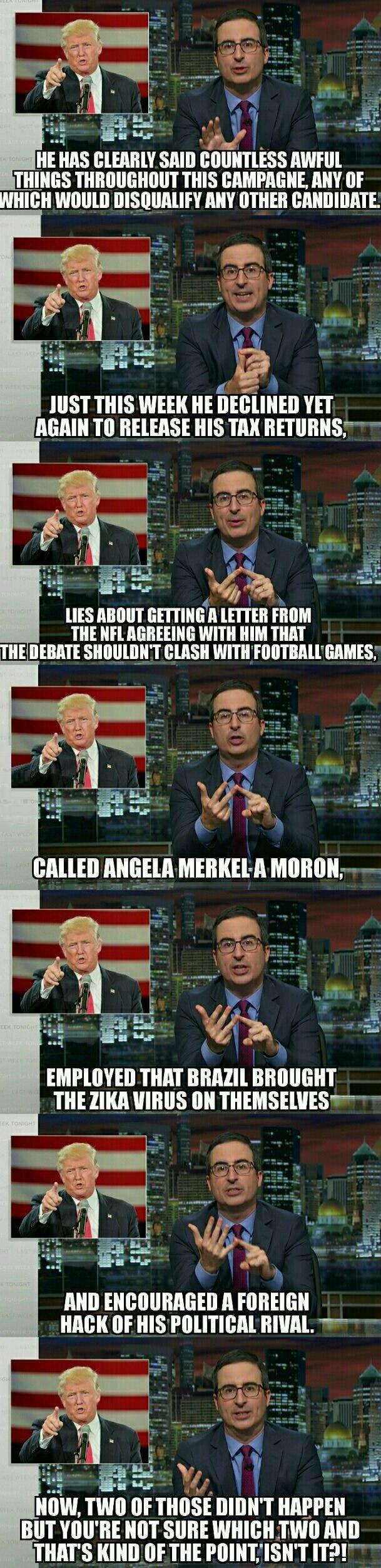 The awful things Trump has said