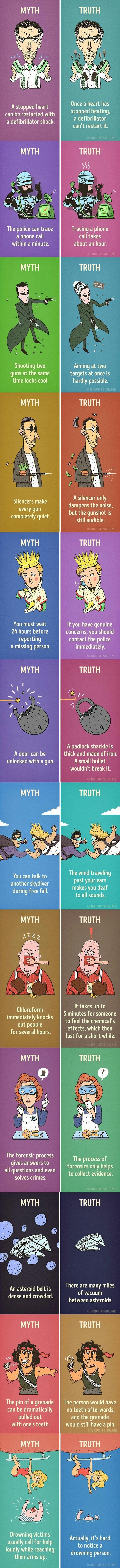 Myths vs truths