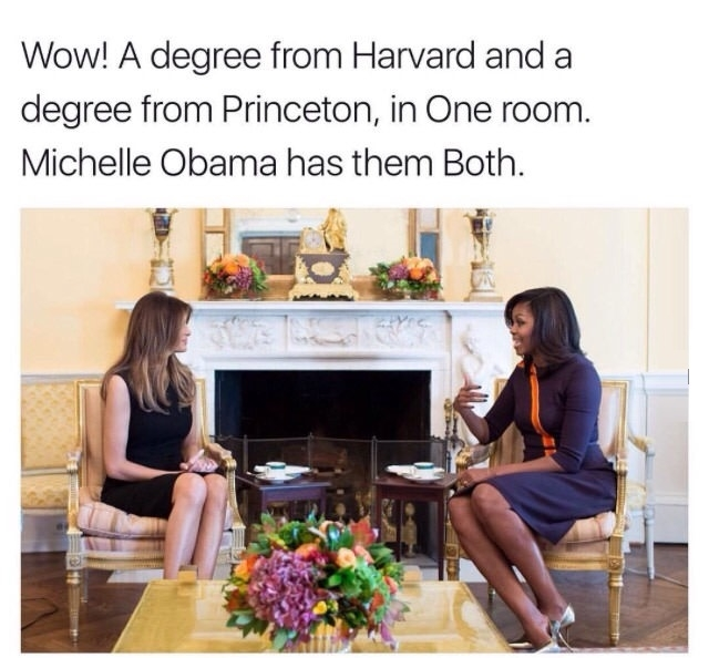 Guess Michelle is really smart
