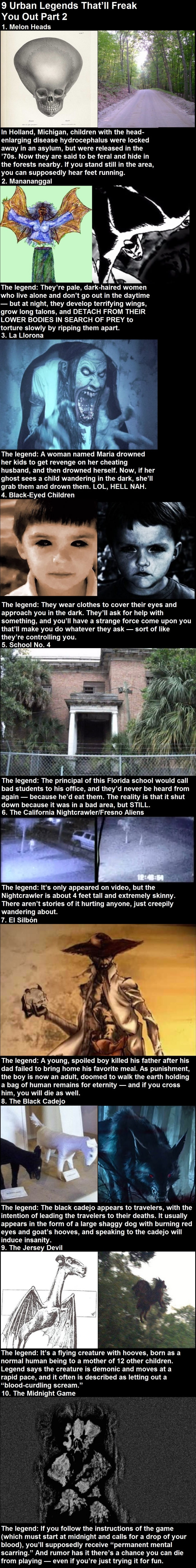 Urban legends that'll freak you out