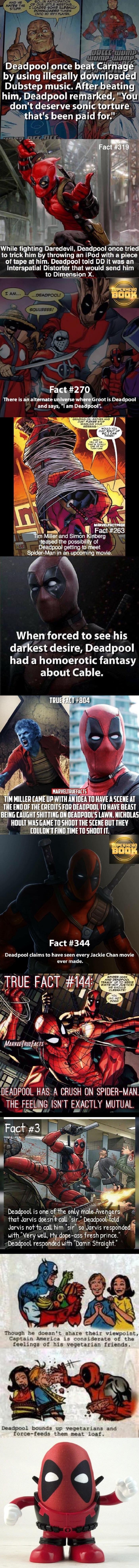 Fun Deadpool facts