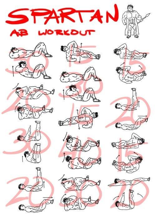 Spartan abs workout