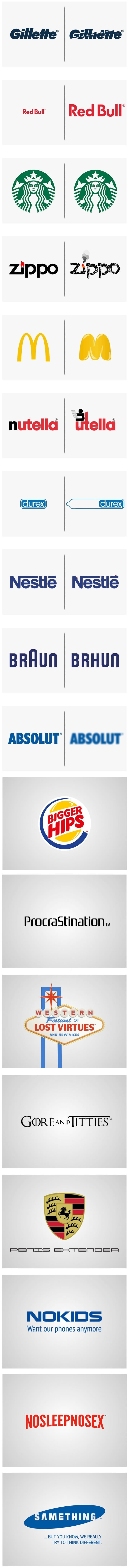 If logos reflected the true nature of the products