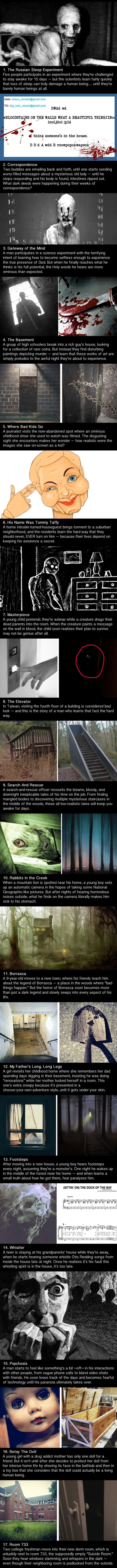 Disturbing internet urban legends