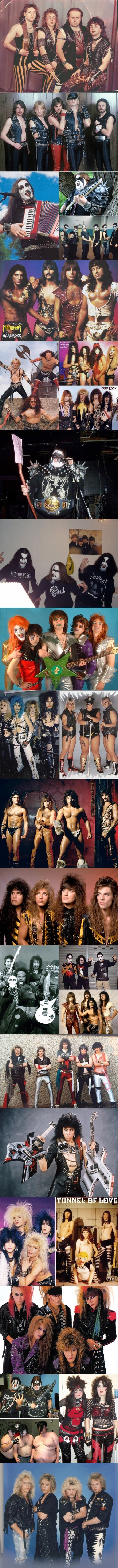 Awkward pictures of metal bands