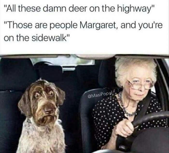 Dammit Margaret
