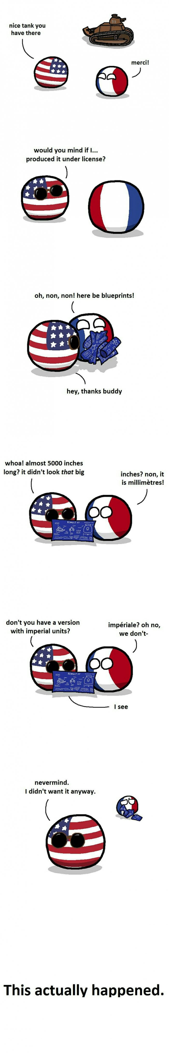 Imperial units master race