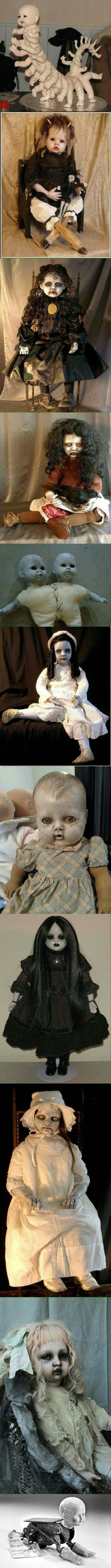 Insanely creepy dolls