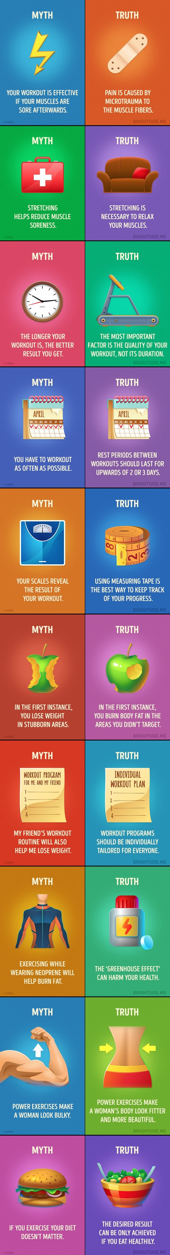 Fitness myths you need to stop believing