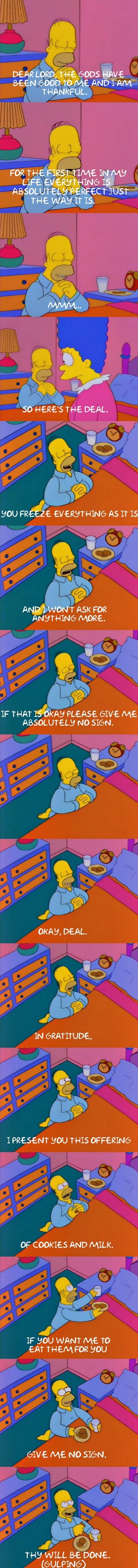 Homer's offering