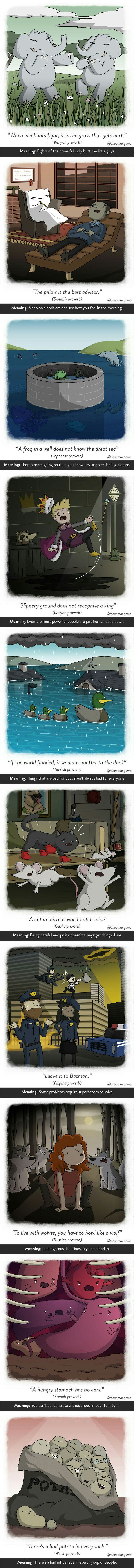 Weird sayings from around the world