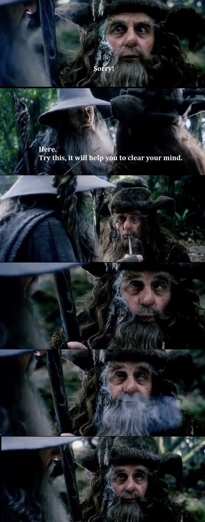 Good stuff of Middle-Earth