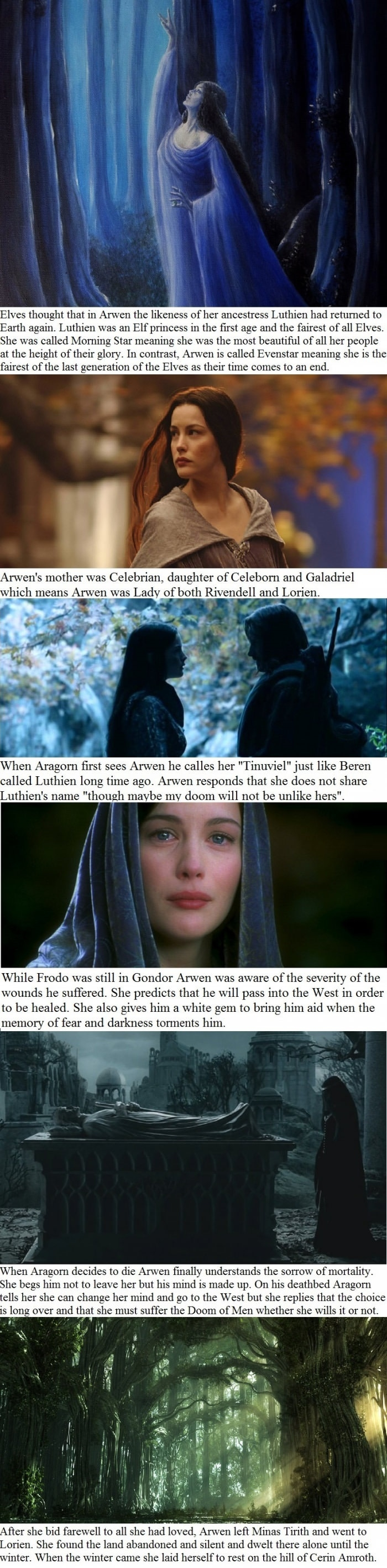 Arwen facts