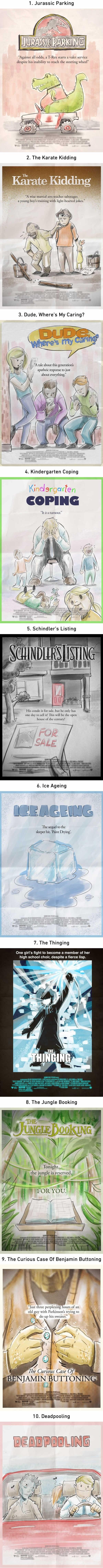 Adding ing to movie titles