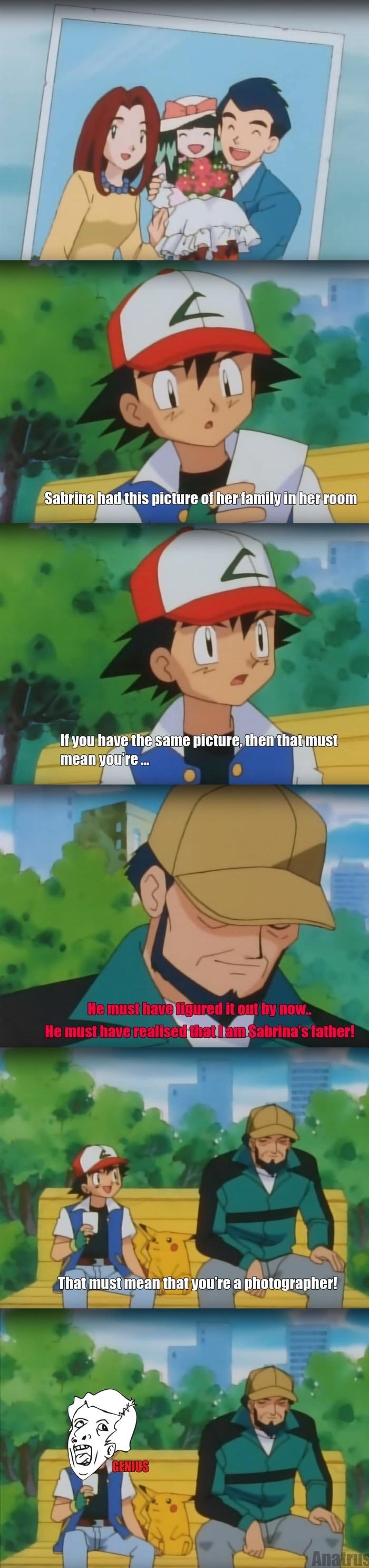 Ash is a genius!