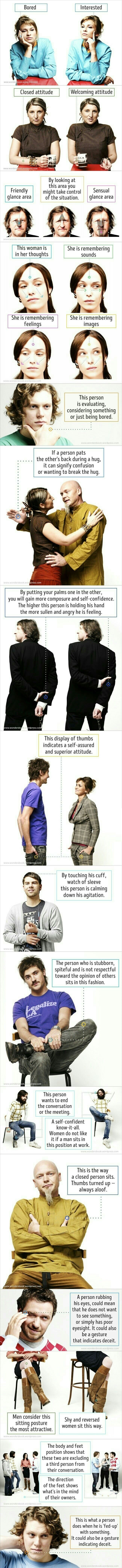 Body language 101