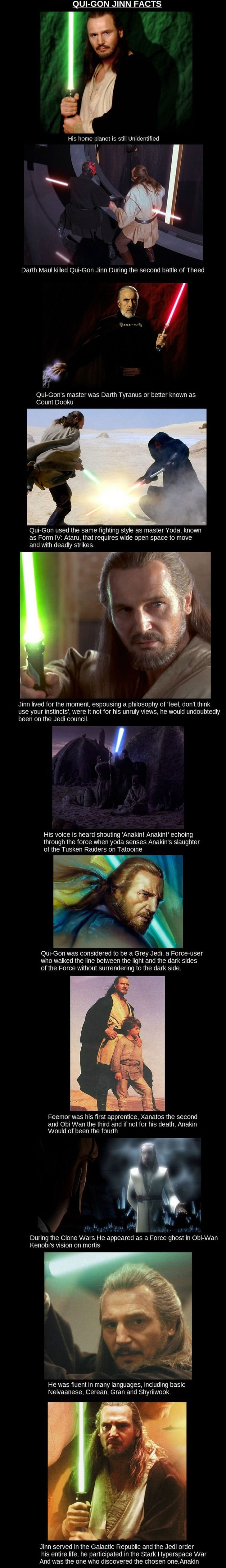 Qui-Gon-Jinn facts