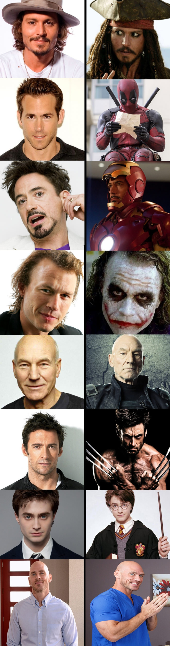 Legendary people who are born for their roles