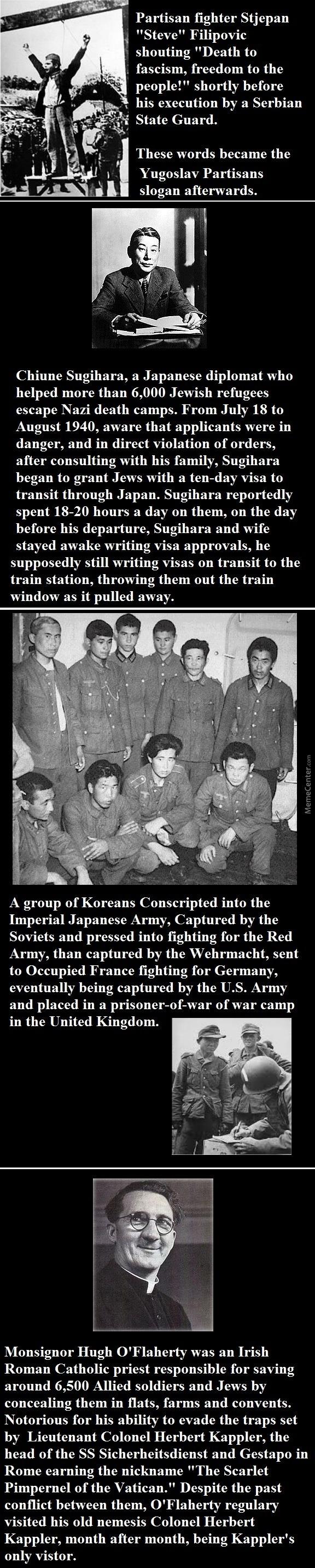 WW2 heroes